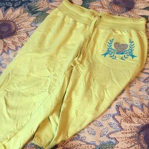 Yellow 1989 sweatpants